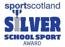 Silver Schools Sports Award Icon